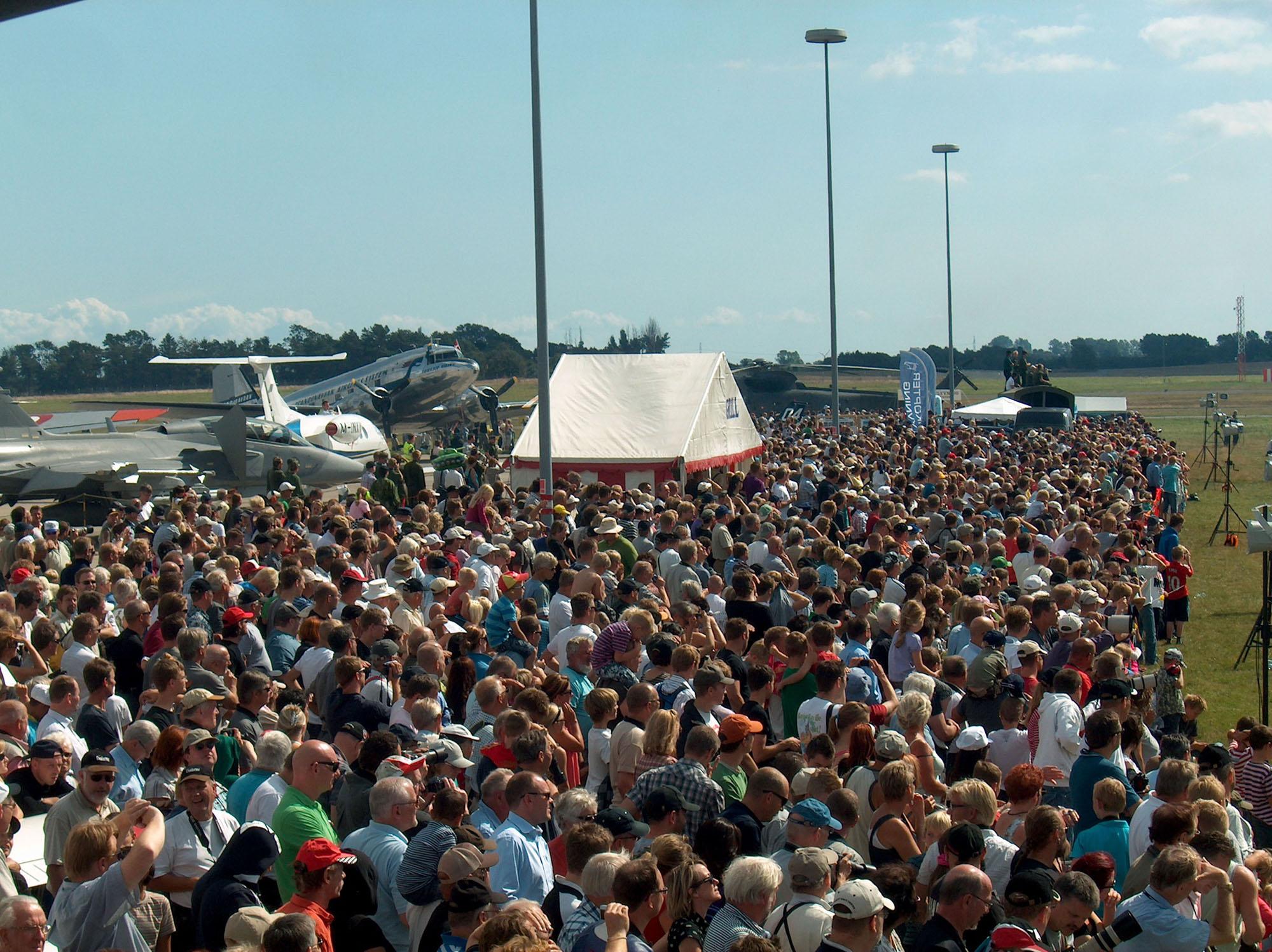 Publikum fra stævnet i 2011