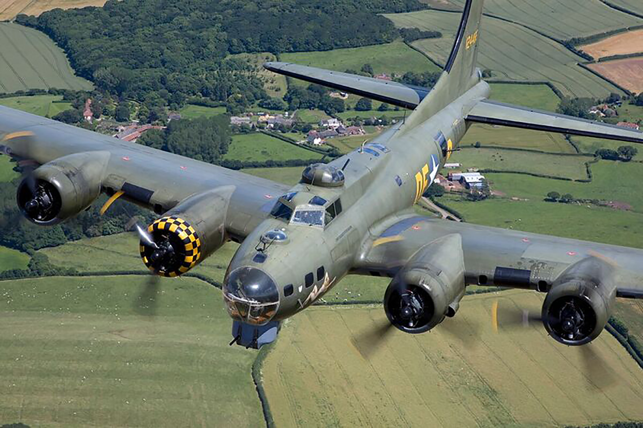 Sally B, B-17 Flying Fortress
