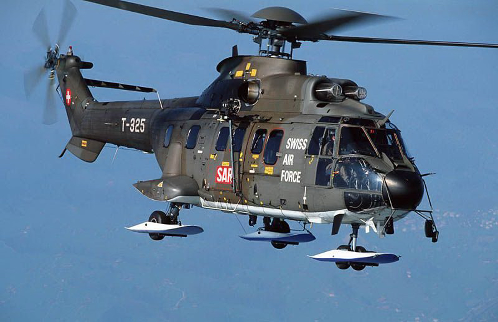 Swiss Air Force - Super Puma Helicopter